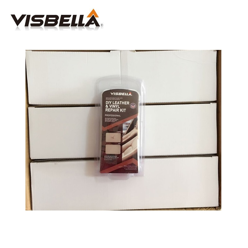 [해외]Visbella 12Kits/Box Update Leather Vinyl Repair Kit  Auto Car Seat Sofa Coats Holes Scratch Cracks Rips Leather Restoration/Visbella 12Kits/Box Up