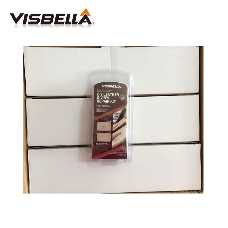 [해외]Visbella 12Kits/Box Update Leather Vinyl Repair Kit  Auto Car Seat Sofa Coats Holes Scratch Cracks Rips Leather Restoration/Visbella 12Kits/Box Up