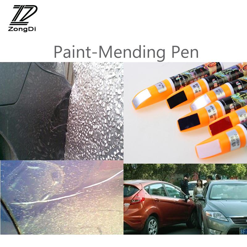 [해외]ZD 1X 자동차 페인트 - 수선 용 펜 커버 긁힘 닛산 용 qashqai j11 juke tiida 혼다 시빅 2006-2011 일치 맞는 Chery 액세서리/ZD 1X Car Paint-Mending Pen cover Scratches For Nissan q