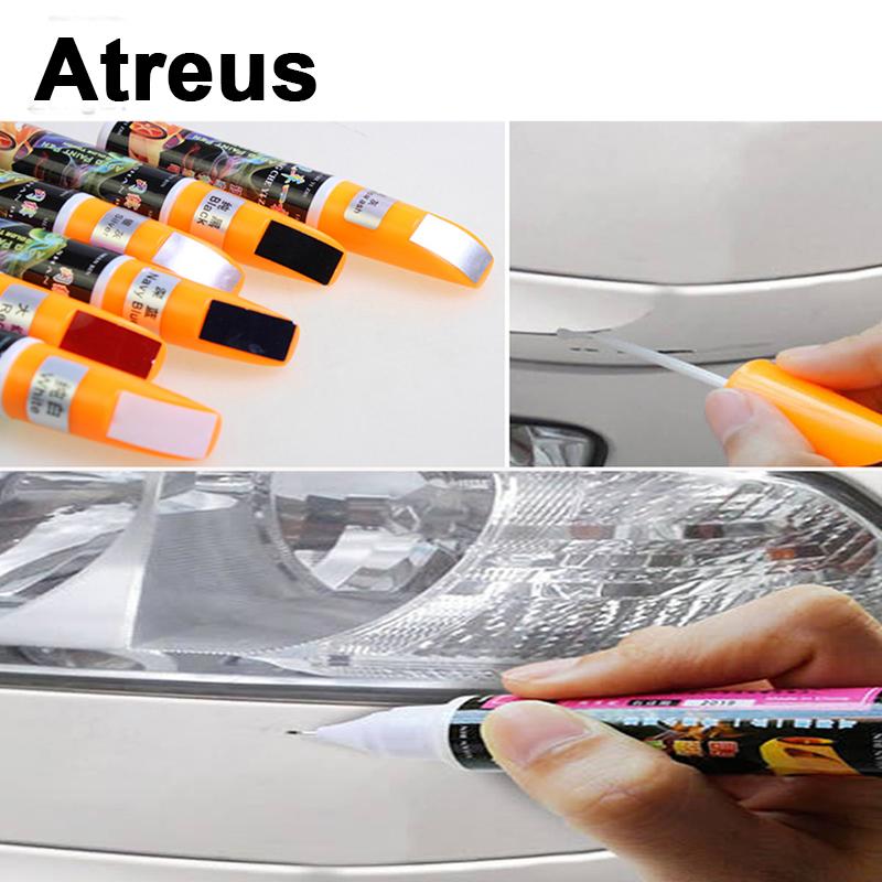 [해외]Atreus 자동차 바디 페인트 흠집 페인트 수리 펜 도구 미쓰비시 ASX 스즈키 스바루 아큐라 지프 Renegade 피아트 현대 솔라리스/Atreus Car Body Paint Scratches Paint Repair Pen Tools For Mitsubish