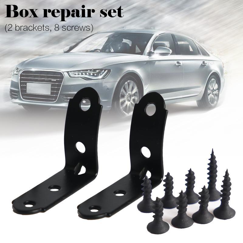 [해외]장갑 상자 수리 키트 2001-2008 아우디 A4 S4 RS4 B6 B7 8E 자동차 수리 도구에 대 한 2 pc 블랙/Glove Box Repair Kit 2001-2008 2 pc Black for Audi A4 S4 RS4 B6 B7 8E Car Repa