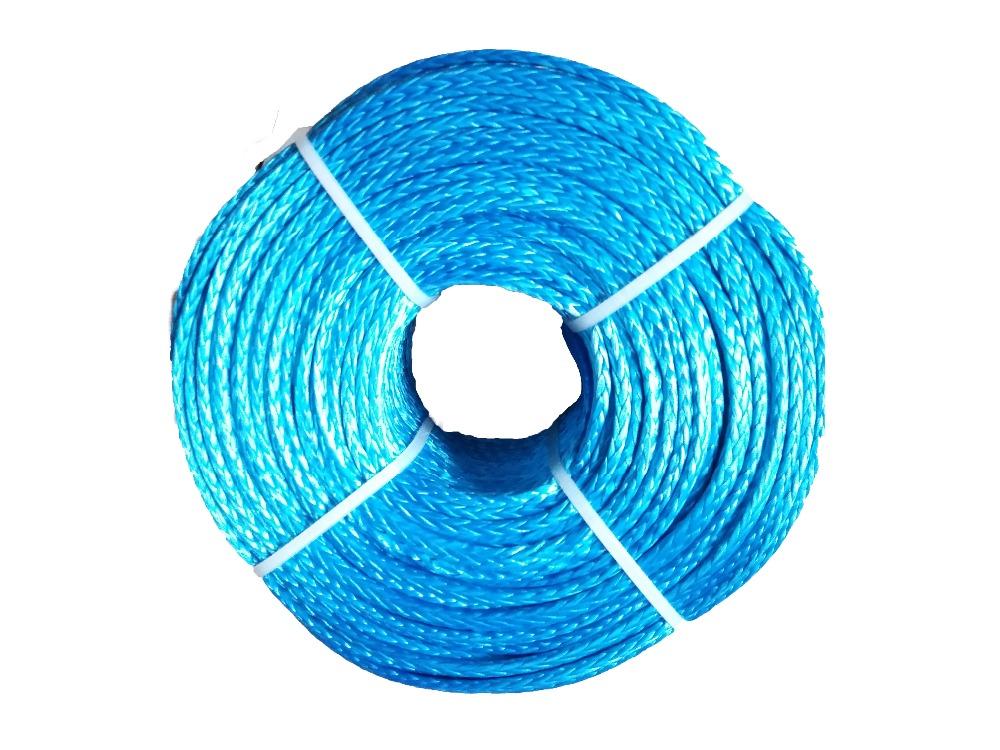 [해외]6mm x 200m 합성 윈치 라인 uhmwpe 케이블 플라즈마 로프 시스 자동차 악세사리/6mm x 200m synthetic winch lines uhmwpe cable plasma ropesheath car accessories