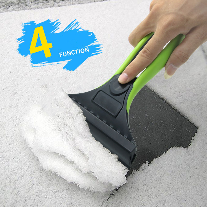 [해외]아이스 스크레이퍼 실리콘 스노우 셔블 겨울 자동차 제빙 플라스틱 스몰 삽 2 종 일체형 제빙 삽 물 스크래핑/Ice Scraper Silicone Snow Shovel Winter Automobile Deicing Plastic Small Shovel Two-i