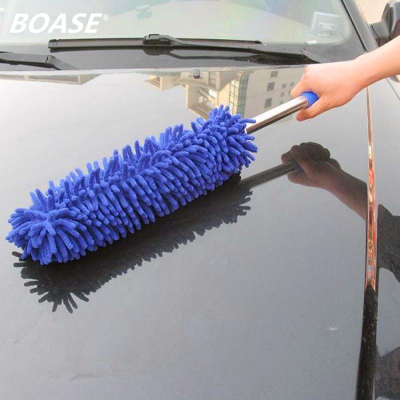 [해외]자동차 청소 용품 마이크로 화이버 자동차 청소 먼지 떨이 왁스 브러시 자동차 세척 깨끗한 브러시/Car Cleaning Supplies Microfiber Car Cleaning Duster Wash Wax Brush  Car Washing Clean Brush