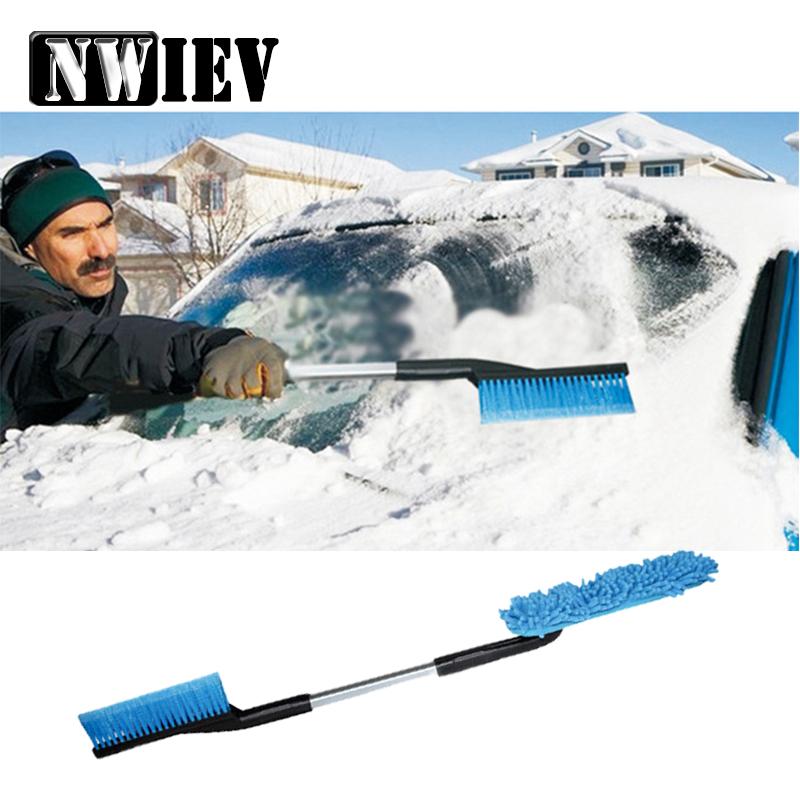 [해외]NWIEV Chevrolet Cruze Jeep Lada granta vesta 용 탈착식 다기능 스노우 셔블 1 대 3 대 세트 현대 액세서리/NWIEV 1Set Three in one Removable Car Multifunctional Snow Shovel