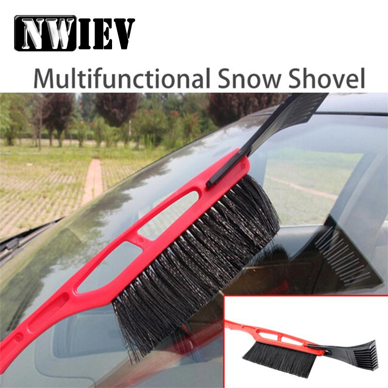 [해외]NWIEV 1X 자동차 다기능 설상차 용 푸조 307 206 407 시트로엥 C4 C5 스즈키 SX4 롱 핸들 제빙 브러시 액세서리/NWIEV 1X Car Multifunctional Snow shovel For Peugeot 307 206 407 Citroen
