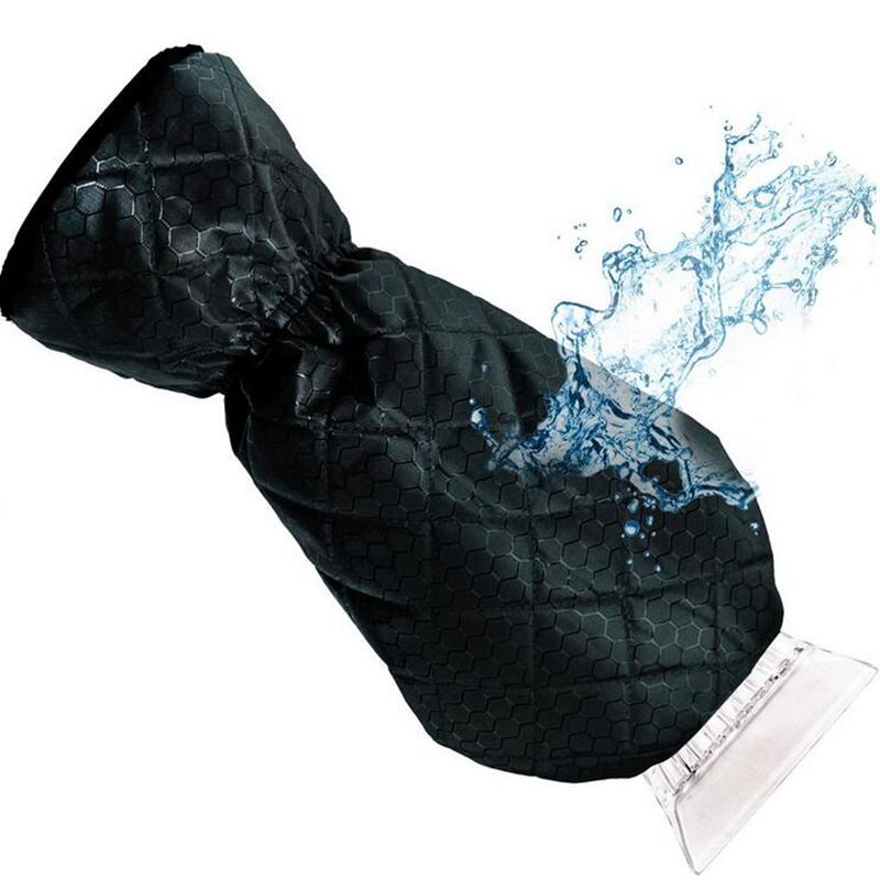 [해외]자동차 스팅 스노우 스크레이퍼 제거 글러브 420D 자카드 옥스포드 천을 청소 스노우 삽 아이스 긁는 도구 자동 창/Car-stying Snow Scraper Removal Glove 420D Jacquard Oxford Cloth Cleaning Snow Sh