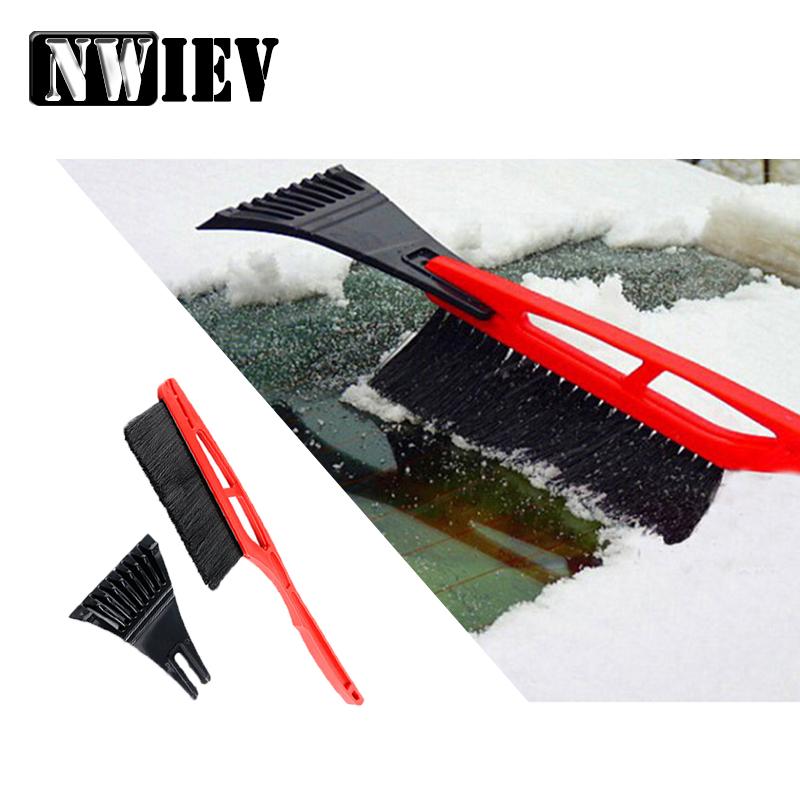 [해외]NWIEV 1X 자동차 다기능 설상차 i30 ix35 스즈키 스위프트 그랜드 마쓰다 3 롱 핸들 제빙 브러시 액세서리/NWIEV 1X Car Multifunctional Snow shovel For Hyundai i30 ix35 Suzuki swift grand