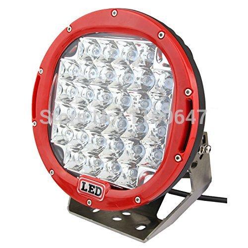 Solicht 9 인치 96 w led 작업 표시 줄 오프로드 자동차 12 v 라운드 높은 전력 8160lm 96 와트 자동 작업 빛 4x4 해양 운전 램프