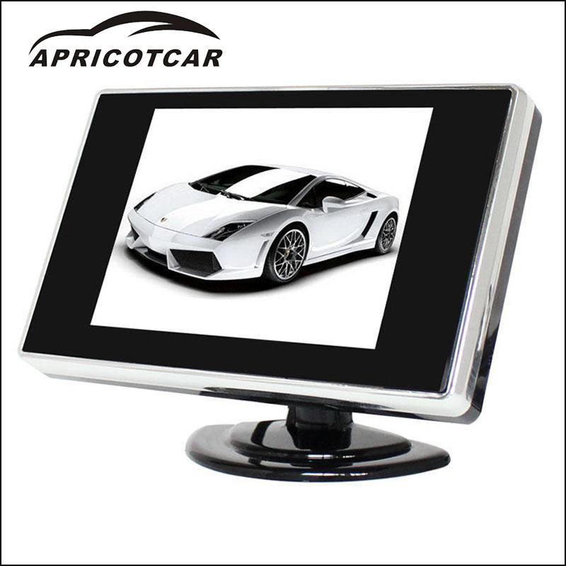 [해외]360도 반전하는 3.5 인치 HD 자동차 모니터 화면 디스플레이 화면을 회전시킬 수있는 화면 버튼/3.5-inch HD Car Monitor screen display reversing 360 degrees A screenbuttons the display c