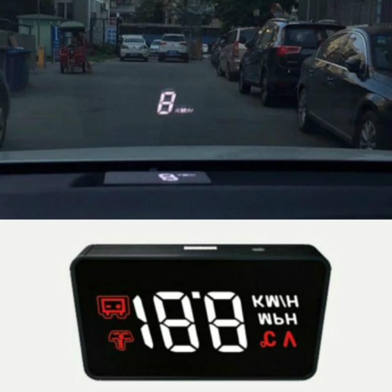 [해외]A100 컴퓨터 자동차 헤드셋 디스플레이 더 편안하고 명확한 표시 속도 마일리지 물 온도 및 전압 경보/A100 computer car headset display more comfortable and clear display speed mileage water