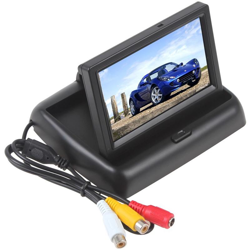 [해외]자동차 Headrest 모니터 4.3 인치 Tft LCD 화면 자동차 모니터 자동차 Rearview 리버스 주차 Monitor2 채널 비디오 입력 카메라/Car Headrest Monitor 4.3 Inch Tft Lcd Screen Car Monitor Car