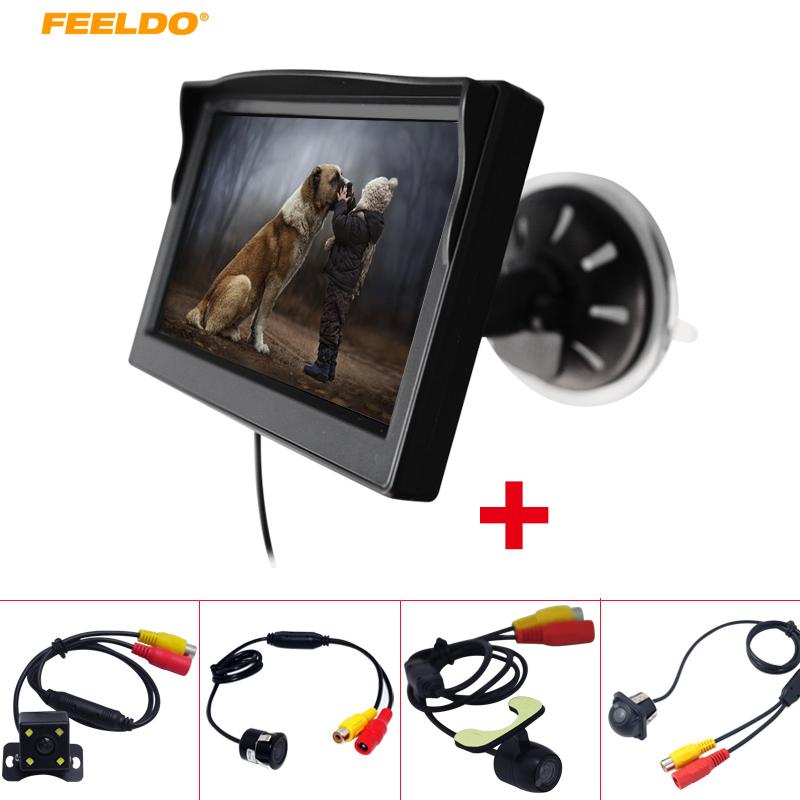 [해외]FEELDO 5 & TFT LCD 앞 유리 MonitorRear 뷰 백업 카메라 AM2375/FEELDO 5& TFT LCD windshield MonitorRear View Backup Camera AM2375