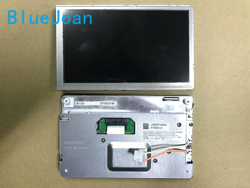 [해외] 100 % 새로운 Sh-arp 5.8Inch LCD 디스플레이 LQ058T5AR04 화면 메르세데스 Porski PCM2.1 자동차 탐색 LCD 모니터/Free shipping 100%Brand new Sh-arp 5.8Inch LCD display LQ058