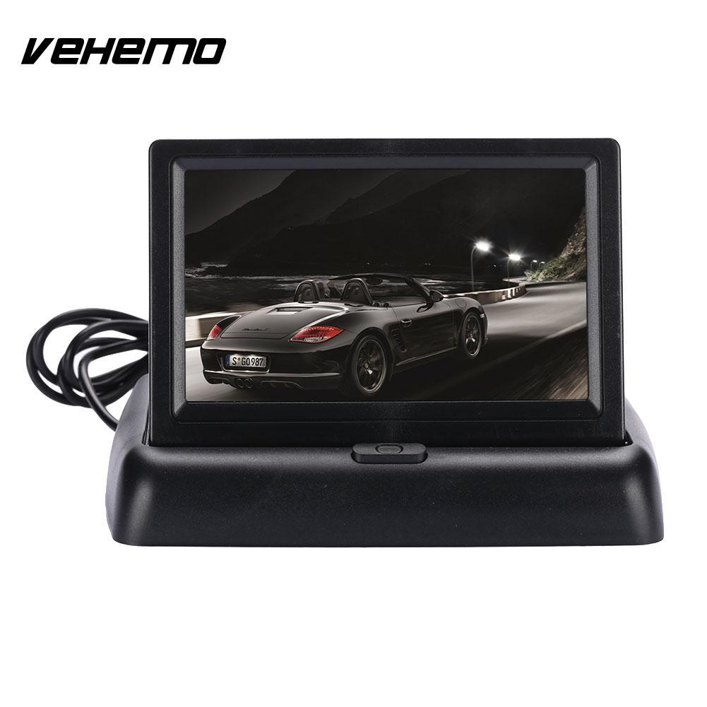 [해외]VEHEMO4.3 인치 모니터 방수 주차 차량 자동차 카메라 역방향 카메라 나이트 비전 자동차 백업 후면보기/VEHEMO4.3 Inches Monitor Waterproof Parking Vehicle Car Camera Reverse Camera Night V