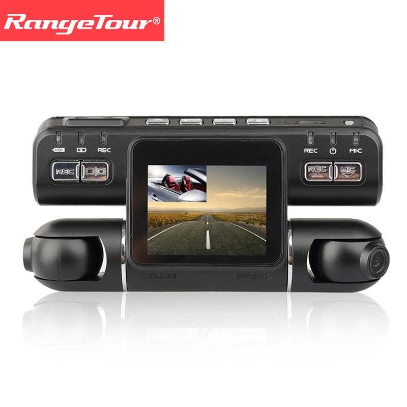 [해외]대시 캠 듀얼 렌즈 차 차량용 차량용 비디오 레코더 I4000 풀 HD 1080P 320도 2.0 및 LCD G- 센서 대시 캠 자동차 블랙 박스/Dash Cam Dual Lens Car DVR Vehicle Camera Video Recorder I4000 F