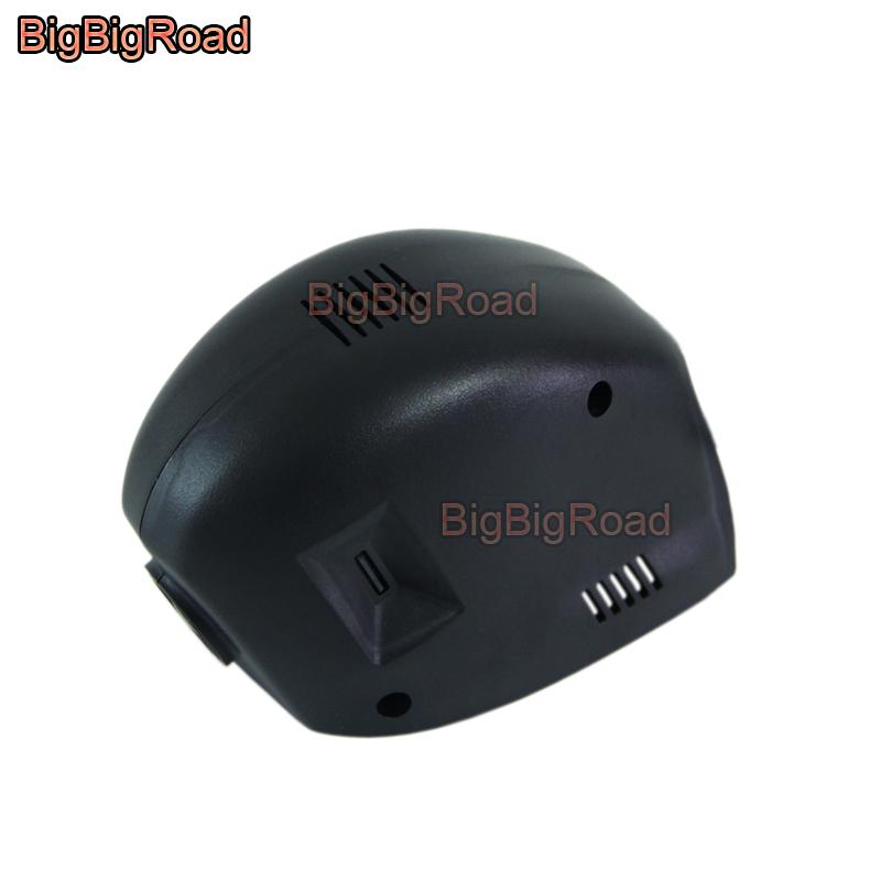 [해외]BigBigRoad 자동차 DVR 와이파이 비디오 레코더 대시 카메라 폭스 바겐 폭스 바겐 Golf7 골프 7 2010 2011 2012 2013 2014 2015 2016 Black Box/BigBigRoad Car DVR Wifi Video Recorder