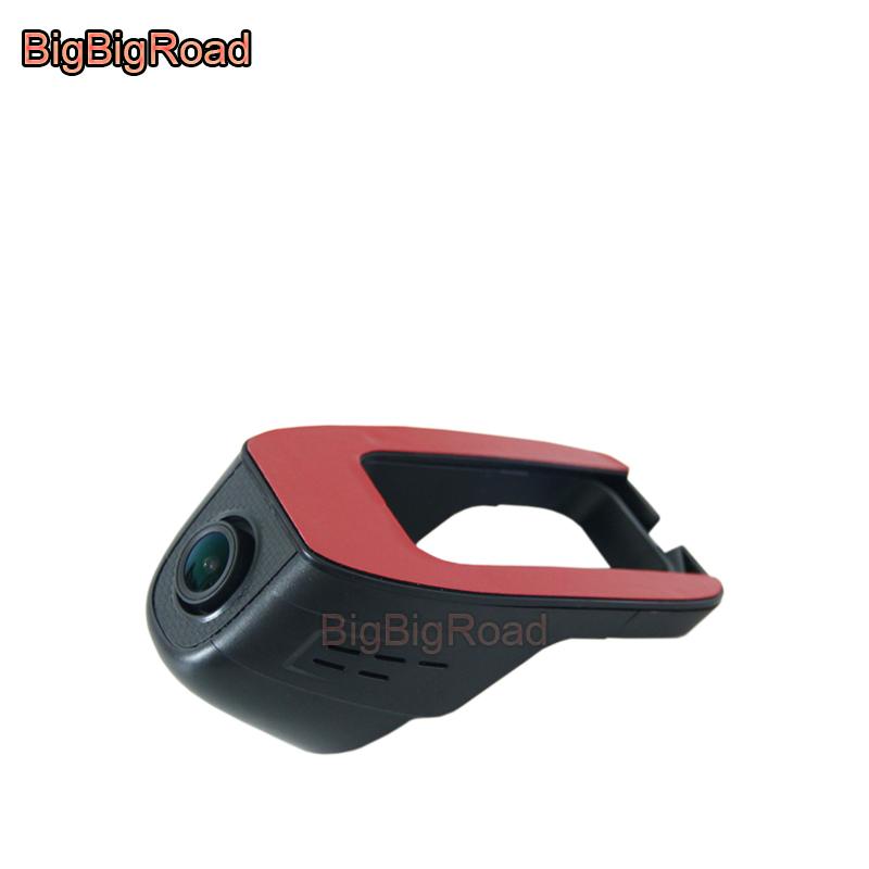 [해외]BigBigRoad 차량용 비디오 레코더 대시 캠 wifi DVR 용 kia Forte k4 kx3 k2 k3 k5 kx cross kx7 카렌스 niro 카니발 picanto Shuma/BigBigRoad Car Video Recorder dash cam wi
