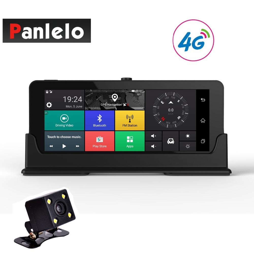 [해외]자동차 대시 카메라 DVR 6.86 &? ? ???? ?? 비디오 레코더 쿼드 코어 1 기가 바이트 16 기가 바이트 ROM을 3G / 4G 와이파이 블루투스 후면보기 캠 G - 센서 1080P 1.3GH/Car Dash Camera DVR 6.86& 안
