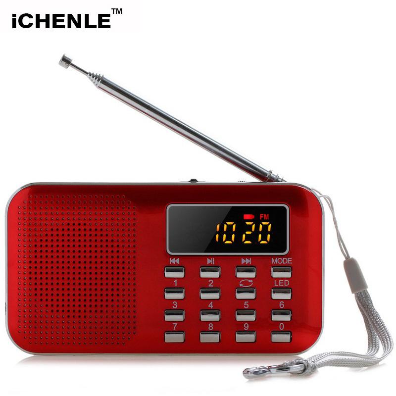 [해외]디지털 방식으로 Mp3 라디오 FM AM 휴대용 라디오 ReceiverMp3 선수 멀티미디어 스피커 TF Aux USB PC 이동 전화 LED 플래쉬 등/Digital Mp3 Radio FM AM Portable Radio ReceiverMp3 Player Mu