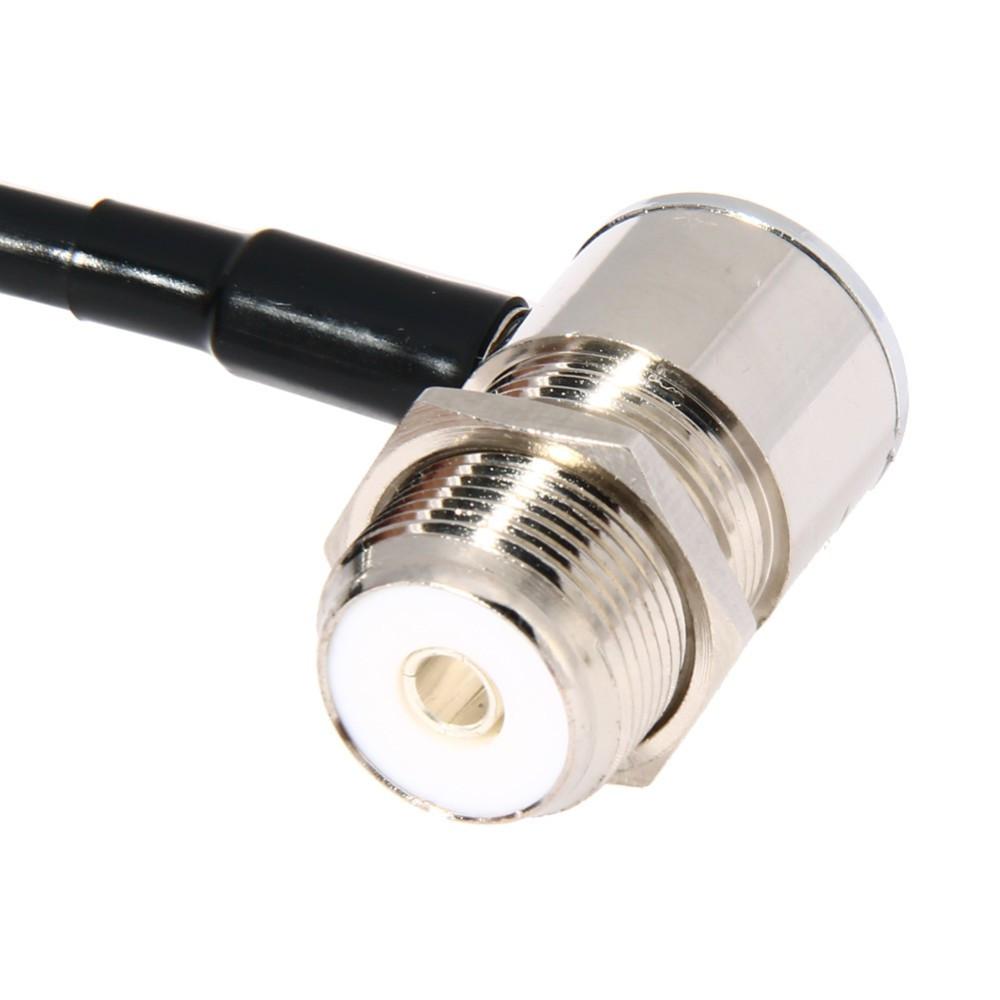 [해외]자동차 워키 토키 MP320 MP9000 5 미터 자동차 라디오 안테나 케이블을16FT / 5M 동축 연장 케이블 저손실 모바일 라디오 케이블/16FT/5M Coaxial Extend Cable for Car Walkie Talkie MP320 MP9000 5