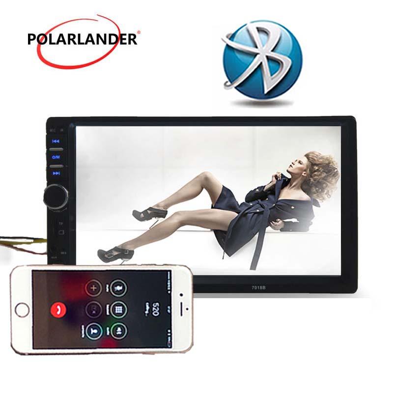 [해외]7 인치 자동 자동차 라디오 플레이어 블루투스 LCD 터치 스크린 2 딘 옵션 170도 CCD 후방 카메라 원격 제어/7 inch   Auto Car radio Player Bluetooth LCD Touch Screen 2 Din Optional 170 deg
