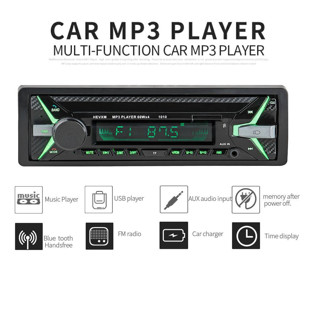 [해외]새로운 12V 차량용 라디오 플레이어 블루투스 스테레오 FM MP3 USB SD AUX 오디오 자동차 전자 제품 1 DIN Autoradio oto teypleri radio para carro/NEW 12V Car Radio Player Bluetooth St
