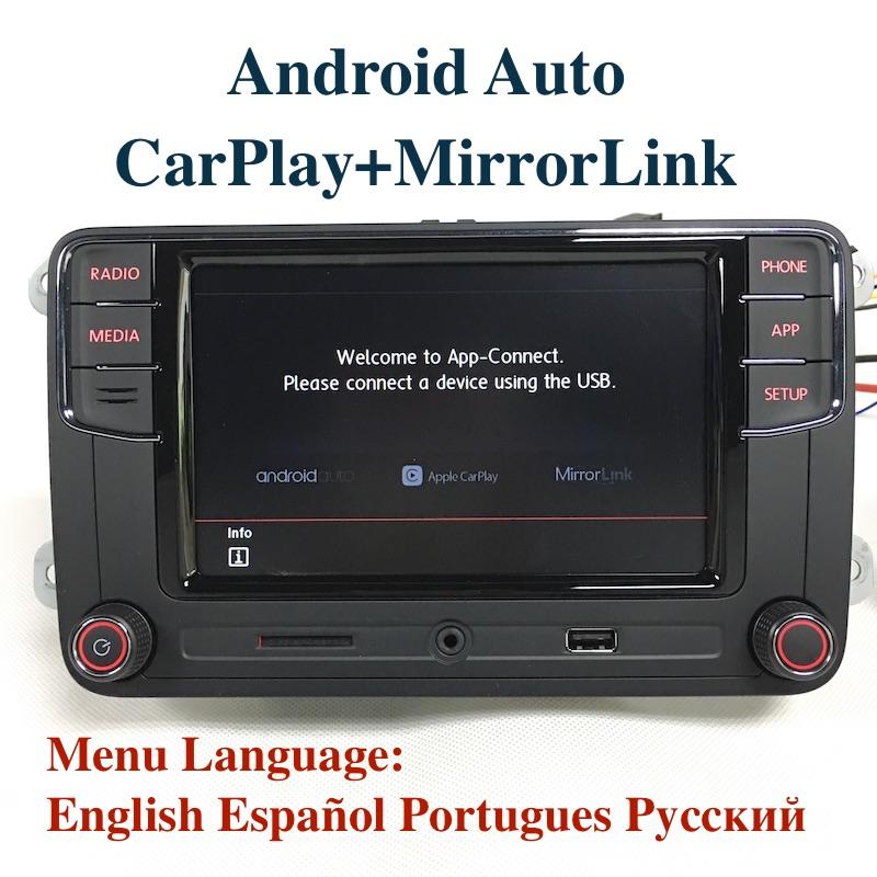 [해외]BODENLA? ? ???? ?? 자동 MIB 차 라디오 RCD330 플러스 RCD330G CarPlay APP를VW Tiguan 골프 5 6 제타 MK5 MK6 Passat Polo Touran/BODENLA 안드로이드 Auto MIB Car Radio RCD