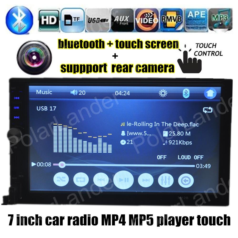 [해외]자동차 MP5 MP4 플레이어 미러 링크 자동차 라디오 7 인치 2 땡 블루투스 7 인치 자동차 MP4 playerremote 컨트롤 7012B1/Car MP5 MP4 player Mirror Link car radio 7 inch 2 din Bluetooth