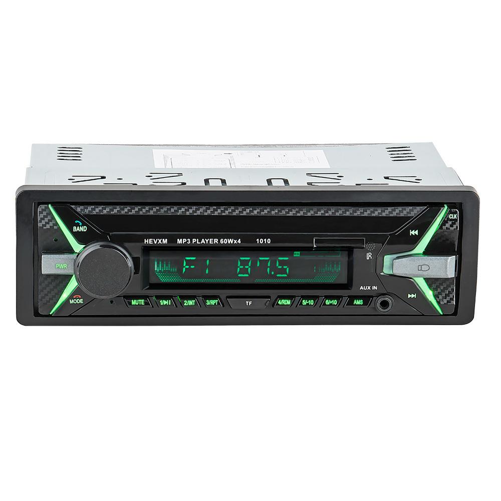 [해외]2018 새로운 자동차 라디오 MP3 송신기 음악 자동 오디오 스테레오 1 딘 자동차 블루투스 차량 MP3 플레이어 수신기 장치 전화 요금/2018 New Car Radio MP3 Transmitter Music Auto Audio Stereo 1 Din Car