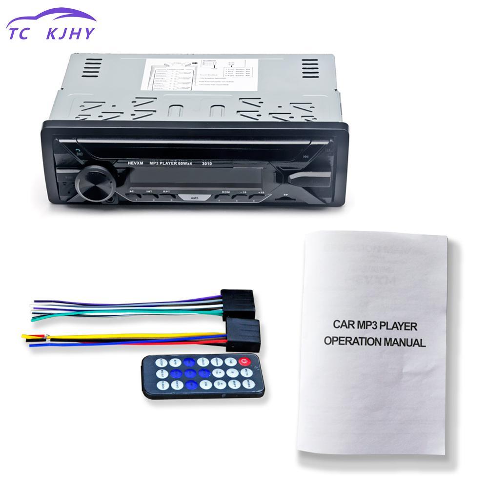 [해외]2018 자동 오디오 자동차 라디오 스테레오 플레이어 블루투스 Mp3 Fm 1 딘 원격 제어 12v 자동차 오디오 자동차 플레이어 Usb 자동차 라디오 Multimidia/2018 Auto Audio Car Radio Stereo Player Bluetooth