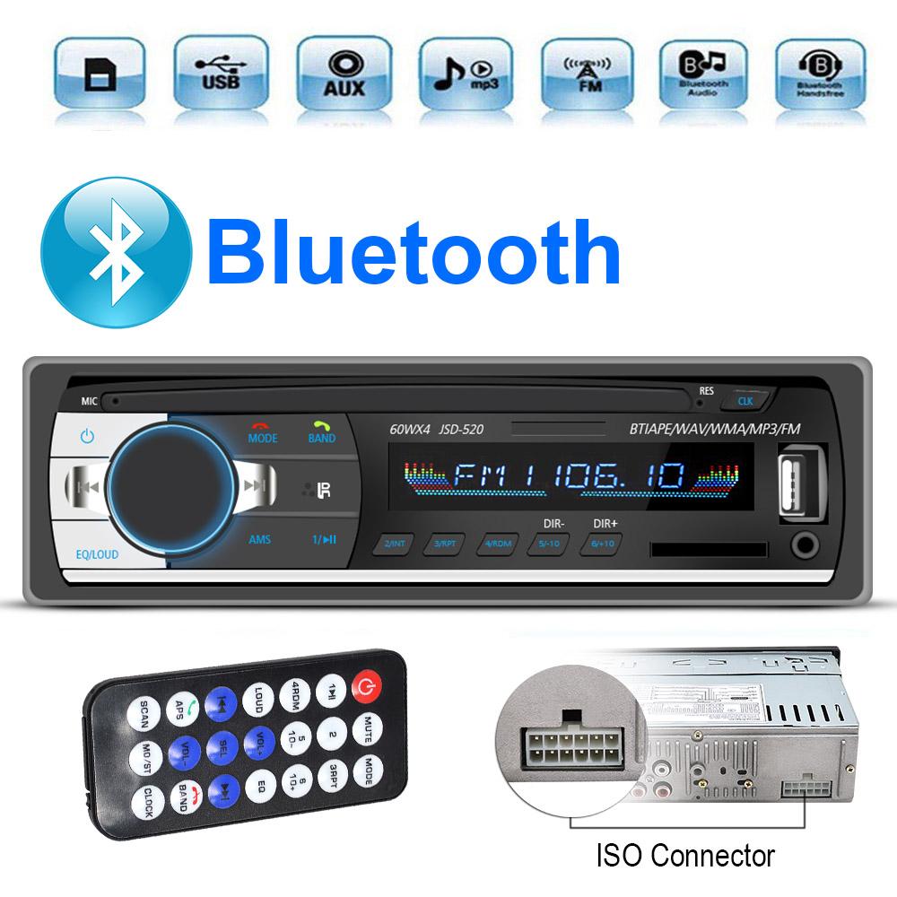 [해외]1pc 자동차 라디오 1.din 스테레오 서브 우퍼 자동차 MP3 플레이어 디지털 FM 튜너 60wx4Internet 라디오 블루투스 DAB 자동 라디오 개척자/1pc Car Radio 1.din Stereo Subwoofer Car Mp3 Player Digi