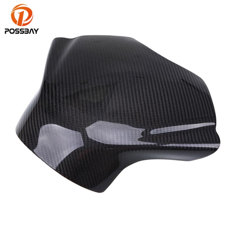 [해외]POSSBAY 오토바이 오일 연료 가스 탱크 패드 탱크 커버 보호대 탄소 섬유 가스 탱크 보호 커버 야마하 YZF R6 2008-2014/POSSBAY Motorcycle Oil Fuel Gas Tank Pad Tank Cover Protector Carbon