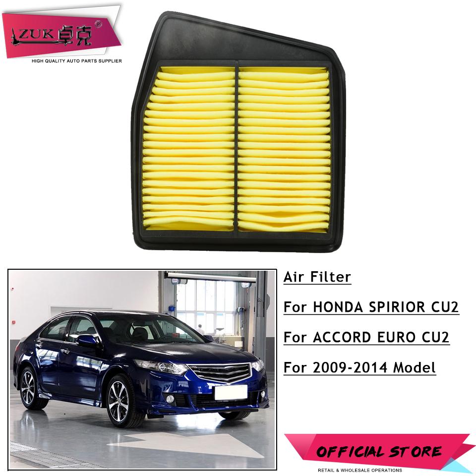 [해외]HONDA SPIRIOR ACCORD 용 ZUK 교체 용 에어 필터 요소 Acura TSX 용 유로 2009 2010 2011 2012 2013 2014 2.4L/ZUK  Replacement Air Filter Element For HONDA SPIRIOR A