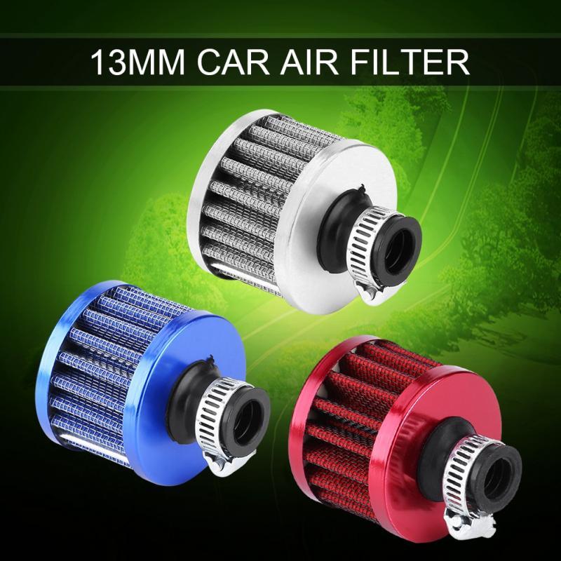 [해외]유니버설 공기 필터 Intake13mm 자동차 차가운 공기 흡입 필터 키트 크랭크 케이스 통풍구 커버 브리더 클리너 밸브 커버 재사용 가능/Universal Air Filter Intake13mm Auto Car Cold Air Intake Filter Kit