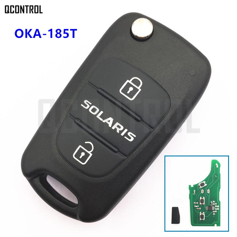 [해외]QCONTROL Car Remote Key 433MHz for HYUNDAI Solaris OKA-185T CE0682/QCONTROL Car Remote Key 433MHz for HYUNDAI Solaris OKA-185T CE0682