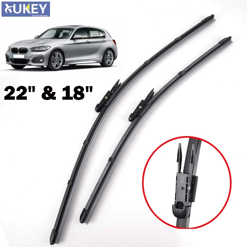 [해외]Xukey Front Wiper Blades For BMW 1 Series F20 F21 116i 118i 116d 118d 120d 125i 125d 2011 2012 2013 2014 2015 2016 2017 22\