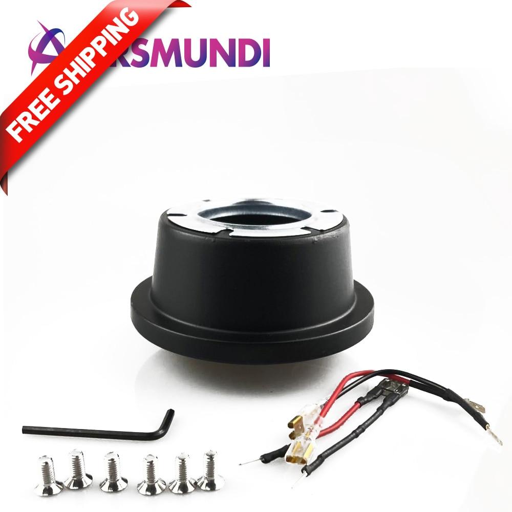 포드/머스탱/포커스 용 새로운 6 볼트 블랙 카 스티어링 휠 허브 어댑터 보스 키트