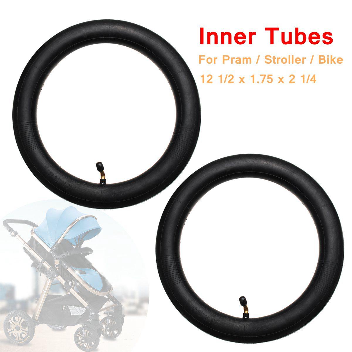 [해외]2Pcs Inner Tube Bent Valve For Hota Pram Stroller Kid Bike 12 1/2 x 1.75 x 2 1/4/2Pcs Inner Tube Bent Valve For Hota Pram Stroller Kid B