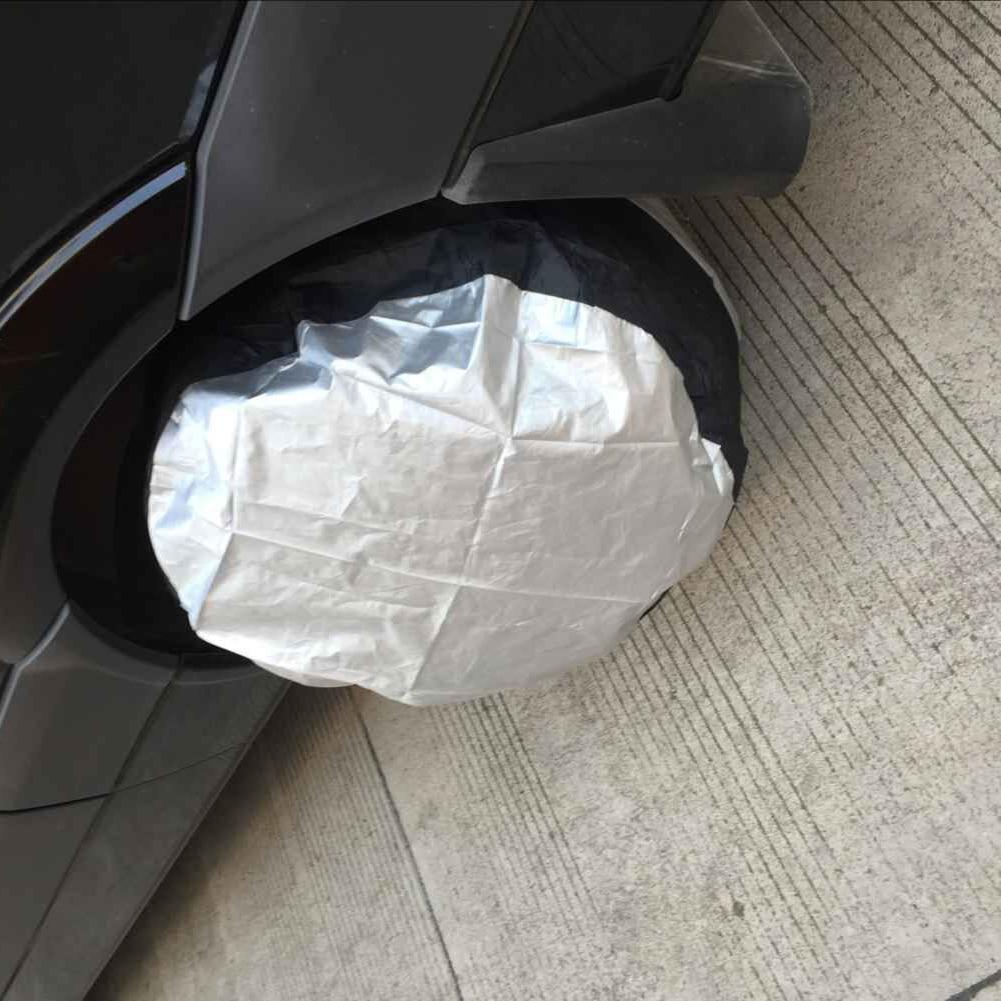 [해외]Tire Cover Case Car Spare Tire Cover Storage Bags Carry Tote Polyester Tire For Car Wheel Protection Covers/Tire Cover Case Car Spare Tire Cover S