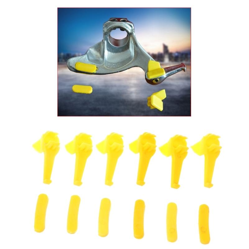 [해외]Free delivery 12 Pcs Tyre Tire Changer Part Nylon Mount Demount Duck Head Insert Rim Protector/Free delivery 12 Pcs Tyre Tire Changer Part Nylon M