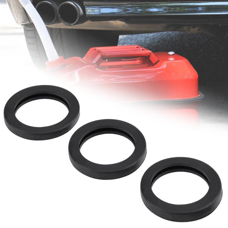 [해외]New 3Pcs Rubber Fuel Gas Can Spout Gasket Jerry Can Cap Gasket Set Replacement Car Accessories/New 3Pcs Rubber Fuel Gas Can Spout Gasket Jerry Can