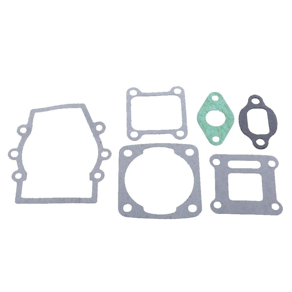 [해외]엔진 밸브 가스켓 세트 43cc 47cc 49cc 미니 핏 먼지 자전거 ATV 실린더 헤드 가스켓 키트 및 씰 밸브 실버