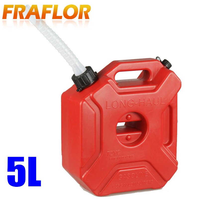 [해외]Practical 5L Gasoline Diesel Fuel Tank Can Pack For Offroad SUV ATV Motorcycle Antistatic Spare Plastic Oil Fuel Tank Container/Practical 5L Gasol