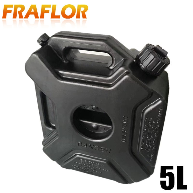 [해외]5L Fuel Tank Cans Spare Plastic Petrol Tanks Mount Motorcycle Car Jerrycan Gas Can Gasoline Oil Container Fuel-jugs Accessory/5L Fuel Tank Cans Sp