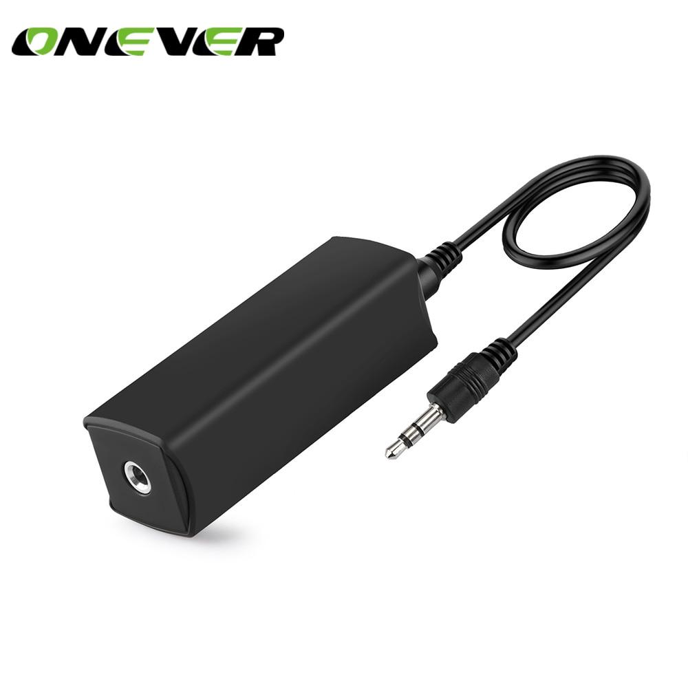 [해외]Onever 3.5mm Aux Audio Noise Filter Ground Loop Noise Isolator for Car Stereo System Audio System Home Stereo Noise Filter/Onever 3.5mm Aux Audio