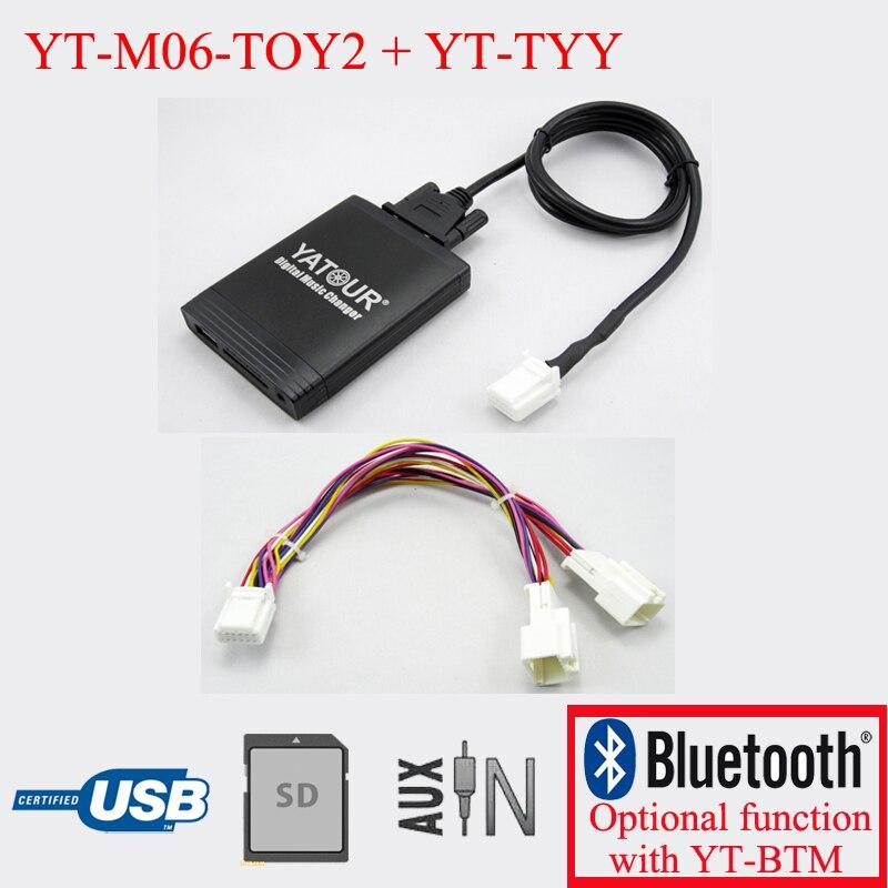 [해외]Yatour car radio MP3 player for Toyota Lexus 6+6PIN radiosNavigation System/Yatour car radio MP3 player for Toyota Lexus 6+6PIN radiosNavigation S
