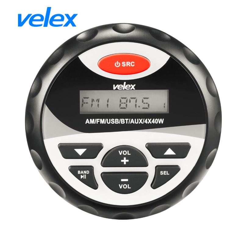 [해외]Marine Motorcycle Waterproof Stereo Bluetooth Radio Car MP3 Player USB&AUX Input FM AM Audio 3\