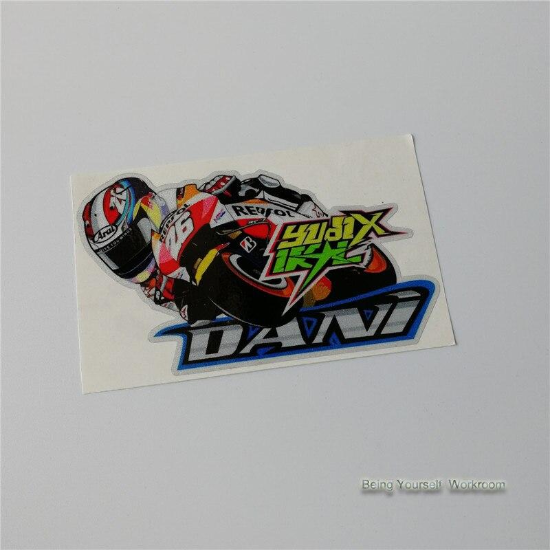 [해외]MOTO GP Dani Pedrosa No.26  motorcycle stickers vinyle motocross road racing decals car styling reflective sticker motor for/MOTO GP Dani Pedrosa