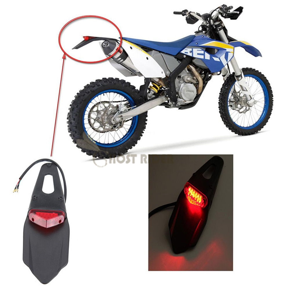 [해외]Polisport Motorcycle LED Tail Light&Rear Fender Stop Enduro taillight MX Trail Supermoto FOR KTM CR EXC WRF 250 400 426 450/Polisport Motorcyc